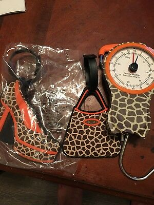 Trendy Luggage Scale And 2 Luggage Tags (New)