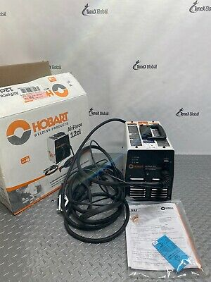 Hobart Airforce 12ci Plasma Cutter 500564 120v 12a Built In Air Compressor P-18