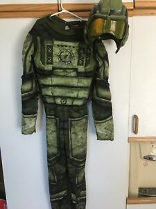 Costume Halloween pilote guerre gr L 10-12!!