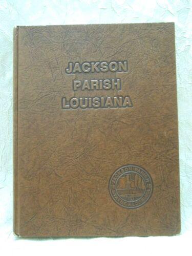 Jackson Parish Louisiana History Genealogy Photos 1982 Hardcover