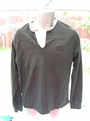Mens NEW ZEALAND/KIWI CANTERBURY RUGBY Casual Shirt - size: Adults M