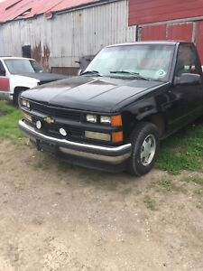 1996 Chevy Shortbox 5 speed