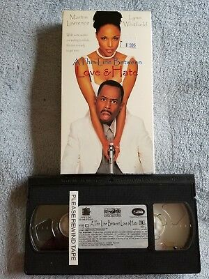 A Thin Line Between Love and Hate (1996) - VHS Tape - Comedy - Martin Lawrence