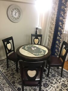 Dining table .