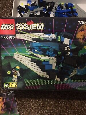 Vintage 1995 Lego Space Unitron Star Hawk II fighter ship 100% complete #1789