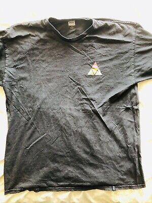 HUF Mens T Shirt XL Extra Large Black Triangle