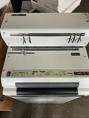 Akiles Coilmac Eci 41 Coil Binding Machine Punch With Electric Inserter .