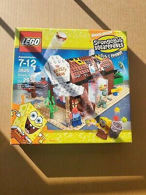 LEGO #3825 Spongebob Squarepants Krusty Krab Set 2006, New In Sealed Box