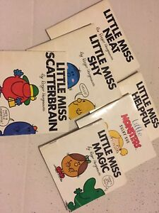 Little Miss BOOKS + more