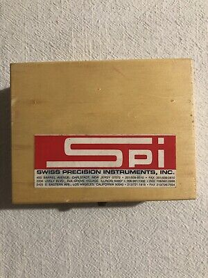 Swiss Precision Instruments Spi Wavy Parallel Set Model 98-430-2 Mint