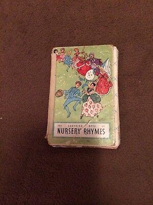 VINTAGE LADYBIRD BOOK  OF NURSERY RHYMES