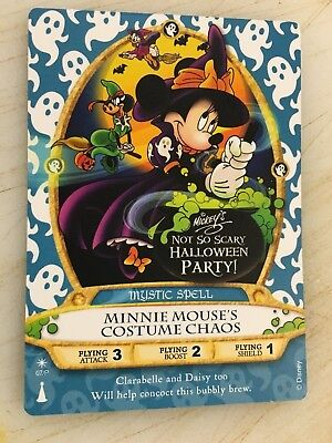MINNIE Halloween Party Card #07/P MNSSHP Disney Sorcerers Of The Magic Kingdom