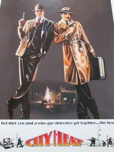 CITY HEAT Original THEATER-USED Movie Poster 27x41 Rolled One Sheet SS #