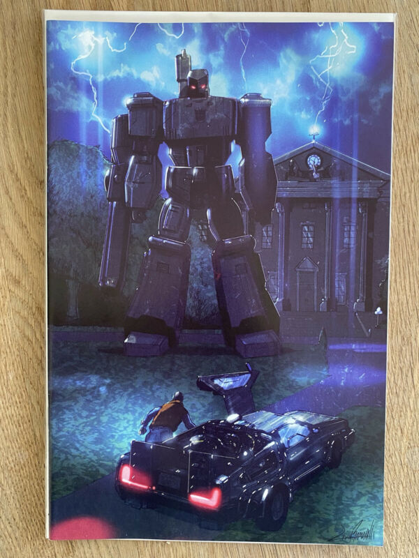 Transformers/Back To The Future—Livio Ramondelli Virgin Variant