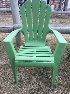 Two Kids Outdoor Chairs