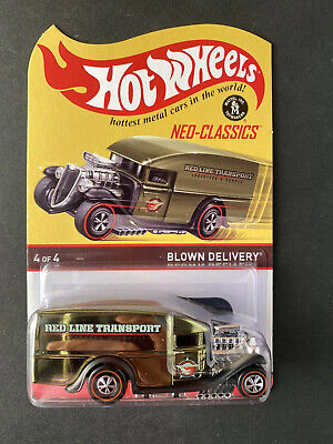 2014 Hot Wheels Neo-Classics Red Line Blown Delivery 3130/4500