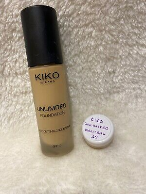 Kiko Milano Unlimited Foundation 3ml Sample Neutral 25