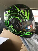 Shark motorbike helmet almost brand new South Melbourne Port Phillip Preview