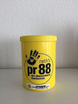 PR88 Handschutzcreme Hautschutz abwaschbarer Handschuh 1000ml  Rath`s