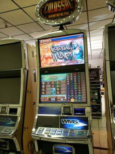 COLOSSAL WIZARD SLOT MACHINE  FUN FOR YOUR HOME