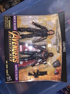 Marvel Legends Infinity War Winter Soldier and Falcon 2 Pack Target Exclusive