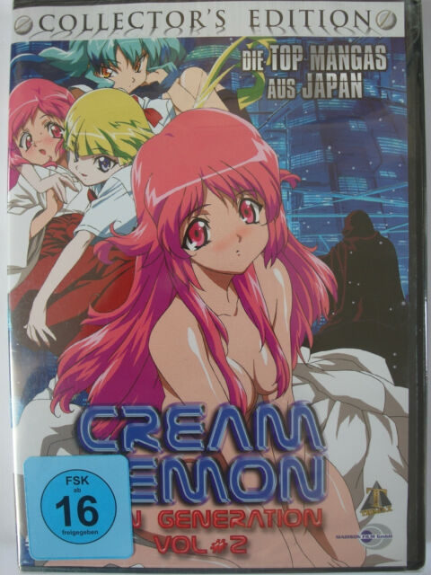 Cream Lemon - Vol. 2 - Collector`s Edition - Hentai Erotik Manga, erotic Monster