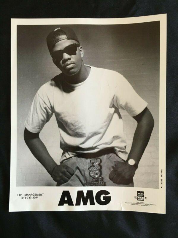 1991 AMG Rapper SELECT Records HIP HOP RAP Press Kit w/Photo