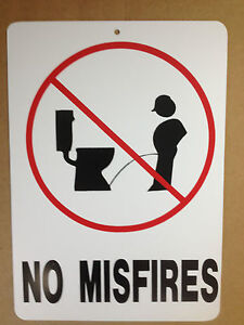 Funny Restroom Sign Ebay