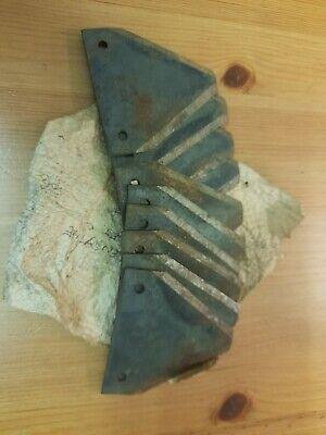 set of 10 N.O.S blades oxford allen scythe rare vintage