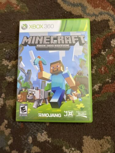 Minecraft Xbox 360 Edition For Microsoft Xbox 360 HE3010150 Very Good - $19.99