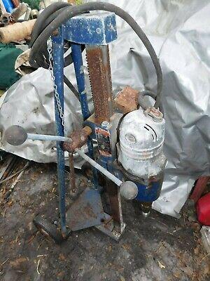 Milwaukee Core Drill 4110 Vac-u-rig Heavy Duty 2 Speed Dymodrill Orlando