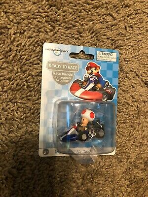 Toad Mario Kart (Mario Kart Wii Diecast Collection 1.5