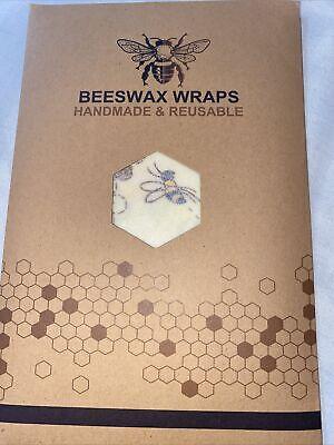 Beeswax Wraps Handmade And Reusable 100% Natural