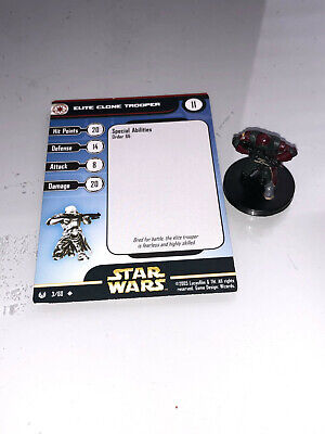Star Wars Miniatures Universe Elite Clone Trooper #3