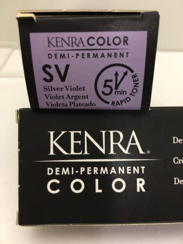 Kenra Demi-Perm Coloring Cream SV Silver Violet