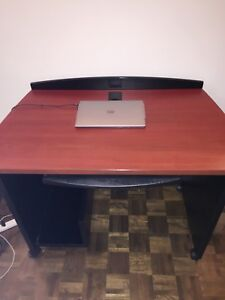 Solid wood computer table and chair for sell