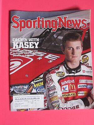 Kasey Kahne The Sporting News Magazine June 16  2006 Nascar