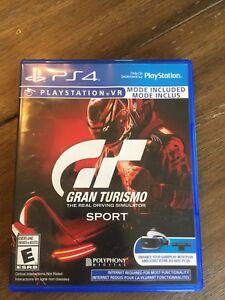 PS4 GranTurismo Sport