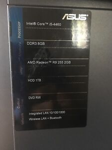 Asus gaming pc PRICED TO SELL