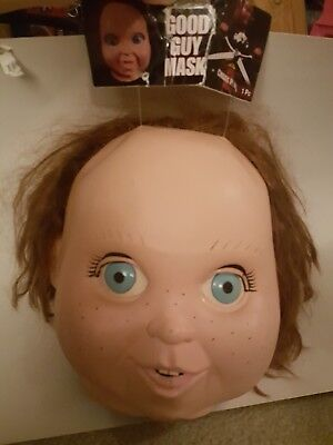 Chucky Mask Trick or Treat Studios Good Guy  Chucky Halloween costume