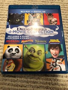 Dreamworks 4-Movie Collection Blu-ray