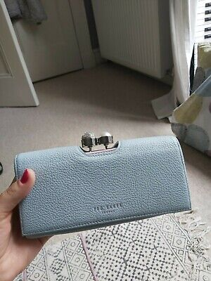 Ted Baker Leather Blue Purse