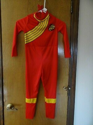 Small Child's Red Power Rangers Wild Force Costume, Size