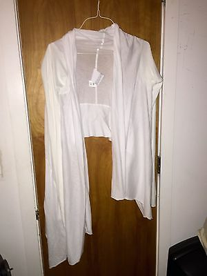 Oak White Long Sleeved Cardigan