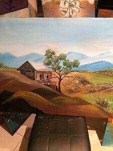 Original landscape  1 metre x95 cm Busselton Busselton Area Preview