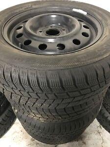 Barum Polaris 3 winter tires on rims. 225/6517