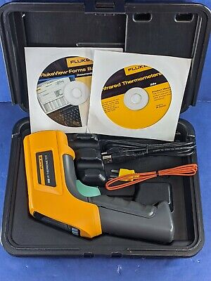 Fluke 568ir Thermometer With Type K Thermocouple Probe New