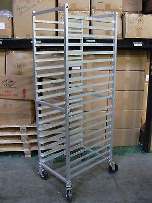 Allstrong Bakers Heavy Duty Sheet Bun Rack 20 Tier W Lock Wheels Aar-202
