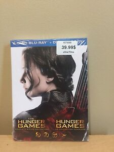 Hunger games collection dvd