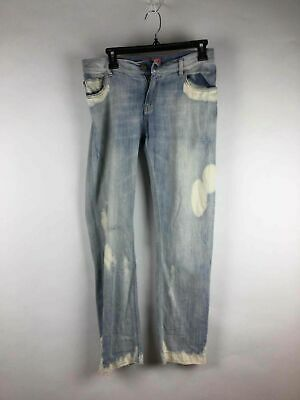 - Manila Grace Light Blue Mid Rise Cotton Jeans Size 27